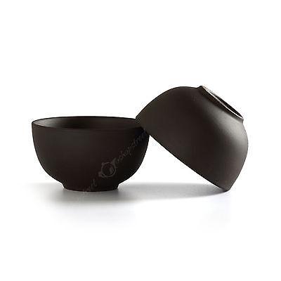 20ml Chinese YiXing Rare ZiSha Black clay Teacup Gongfu tea Bowl-cup cute cup