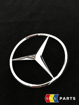 NEW GENUINE MERCEDES BENZ MB C W202 W203 REAR BOOT TRUNK LID STAR BADGE EMBLEM