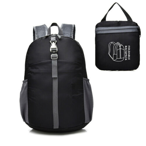 Durable Lightweight Packable Backpack Water Resistant Travel Daypack Foldable