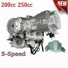 Engine Motor With Manual Transmission Reverse 200cc 250cc Vertical Engine Atv