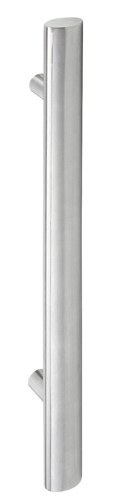 Haustürgriff Stoßgriff Edelstahl ovale Griffstange 1200 mm mit mit mit geraden Stützen | Qualitativ Hochwertiges Produkt  495e8d
