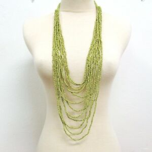 40-034-Waterfall-Green-Multi-Strand-Handmade-Seed-Bead-Statement-Necklace