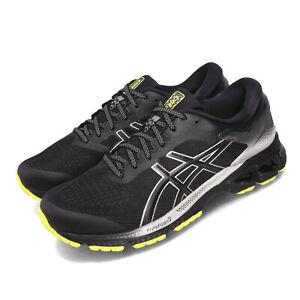Asics-Gel-Kayano-26-Lite-Show-Black-Silver-Yellow-Men-Running-Shoes-1011A686-001