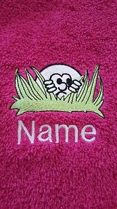 PERSONALISED-Golf-Bowls-Swim-Gym-Towel-ideal-give-away-039-s-stag-parties