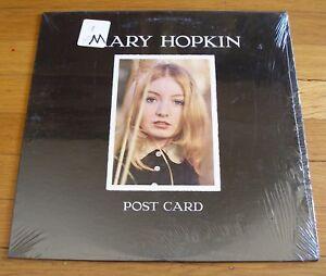 Mary-Hopkin-1969-Apple-LP-Post-Card-Paul-McCartney-cLEAn-and-in-shrink-wrap