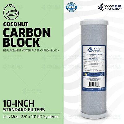 In base al cocco 5 Micron Carbonio Cartuccia filtro di blocco