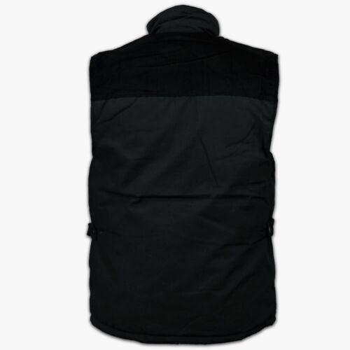 Mens Bodywarmer Workguard Padded Gilet Bnwt Black Blue Green Sports Combat*LICK*