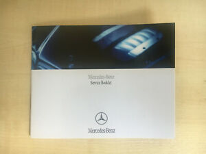 MERCEDES-SERVICE-BOOK-GENUINE-BLANK-NOT-DUPLICATE-ALL-MERCEDES-CARS-AND-VANS