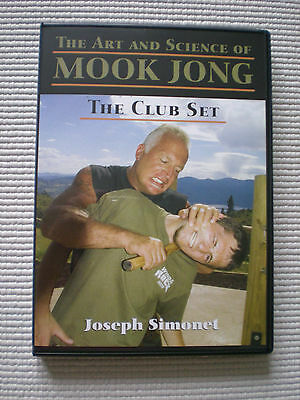 Mok Mook Jong The club Set Joseph Simonet Wing Chun Kung Fu DVD Wooden Dummy