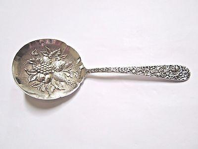 Kirk /& Son Rose Bon Bon Spoon Vintage Repousse Sterling Silver S