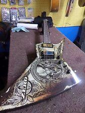 """Dean Dave Mustaine Zero Signature """"In Deth We Trust"""" Electric Guitar"""