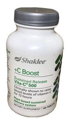 Shaklee C Boost Chewable Vita C 300 Tablets Free Shipping Ebay