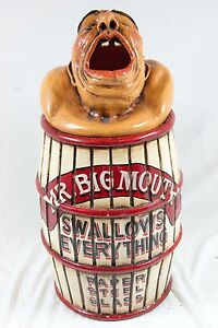 Image Is Loading Vintage Mr Mouth Amut Park Circus Side
