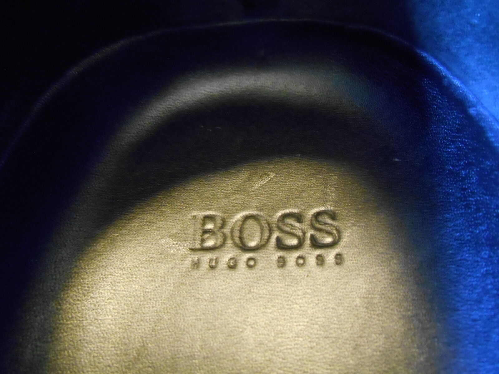 HUGO HUGO HUGO BOSS LOAFER schwarz schuhe Größe 10 GENTLY WORN . VERY NICE. a1a003