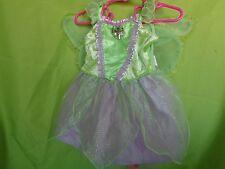 Disney Store Tinkerbell Green Fairy Dress Halloween Costume SIZE 3-6 months NEW