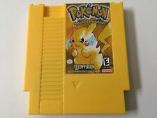 POKeMON Yellow Version for NINTENDO NES Tested & SAVES+ FREE US SHIPPING POKEMON