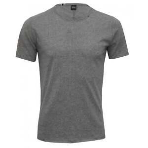Replay-Pure-Cotton-Crew-Neck-Men-039-s-T-Shirt-Grey-Melange