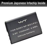 Wt-npbg1 Wt Batteryfor Sony Dsc-h70,dsc-h90,dsc-hx5v,dsc-hx7v,dsc-hx9v,dsc-hx10v