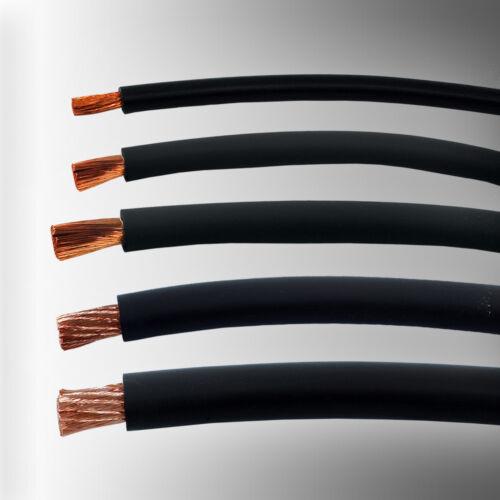 Massekabel flexibel säurefest temperaturbeständig H01N2-D Batteriekabel