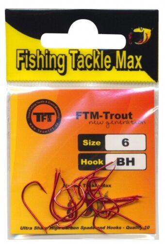 6 8362006 TFT FTM Fishing Tackle Max Haken Bienenmade Bienenmadenhaken Gr