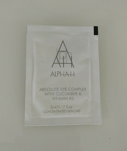 Alpha H Absolute Eye Complex Cucumber Vitamin B5 Sample 5ml authorised seller