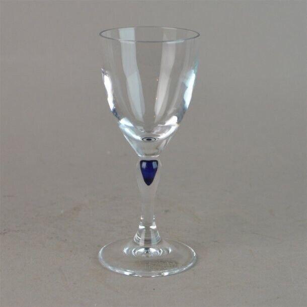 "Glas, Krystalglas, Blå Dråbe Sephir ""Venice"" Cristal"