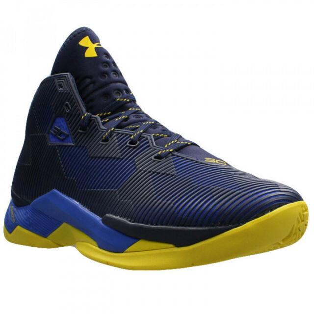 7d89d587a736 new mens 11.5 under armour curry 2.5 basketball shoes 1274425 400 dub nation