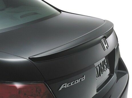 #280 PAINTED FACTORY STYLE LIP SPOILER fits the 2008 - 2012 HONDA ACCORD 4DR