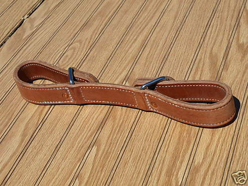 Harness Leather Double horse hobbles quick slip western custom quality USA H3000