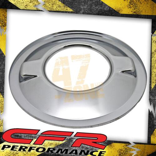 "Chrome Chevy Ford Mopar Steel 16/"" Dominator Air Cleaner Base"