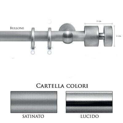 Redelijk Scorritenda Bastone Per Tenda Alluminio Strappo Corda Con Anelli Bullone Vami