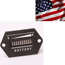 12V 24V LED Digital Lead  Battery Tester Indicator Gauge Monitor Meter Panel