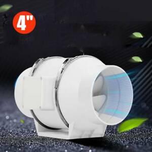"4"" Loft Mounted Bathroom Shower Inline Duct Extractor Fan ..."