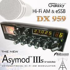 GALAXY DX-959 & THE NEW ASYMOD IIIs ASYMMETRICAL Hi-Fi AM MODULATOR + eSSB