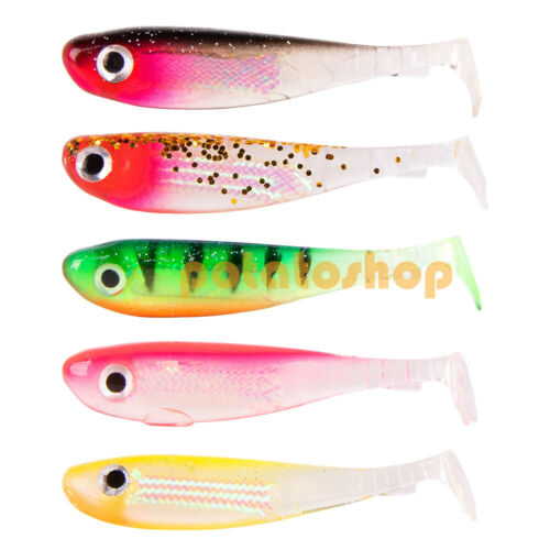Details about  /4x Paddle Tail For Saltwater Freshwater Shad Minnow Dropshot Soft Plastic Lures