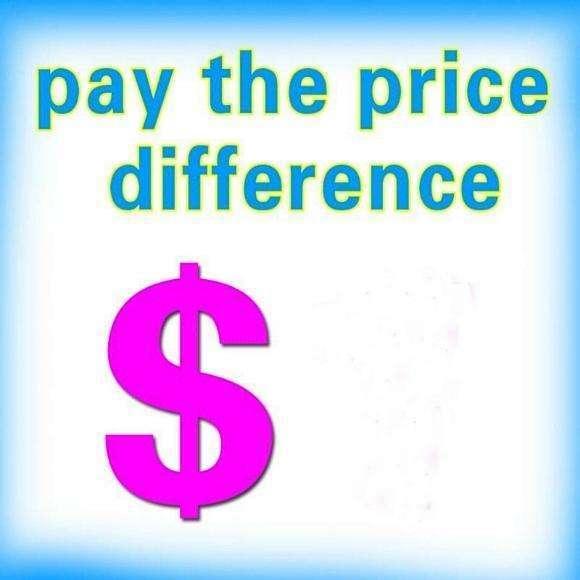 Zusatzgebühr für Versandkosten oder Produkt ausgewogenes Preis 0618