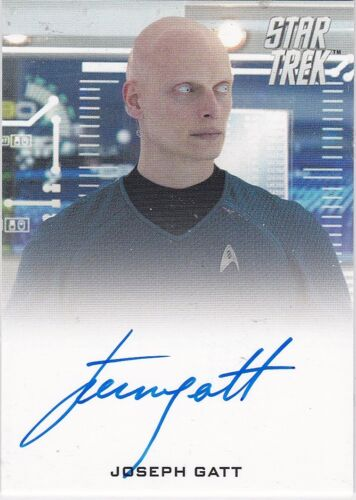 STAR TREK 2014 MOVIES JOSEPH GATT AS SCIENCE OFFICER 0718 FB AUTOGRAPH LIMITED