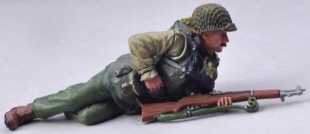 THOMAS GUNN WW2 U.S. ARMY 2ND RANGERS USA007A RANGER RELOADING DRY LEGS MIB