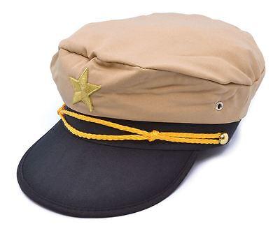 Sezione Speciale Cappello Da Ufficiale, Marinaio, Capitano Costume Cappello-mostra Il Titolo Originale Possedere Sapori Cinesi