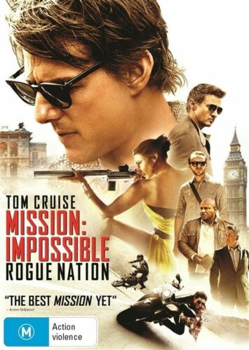 1 of 1 - Mission Impossible - Rogue Nation (DVD, 2015) NEW R4 Tom Cruise