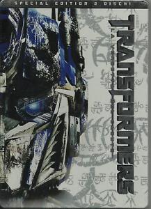 Transformers-2-La-Vendetta-del-Caduto-DVD-Nuovo-Collector-039-s-Edition-Metal-Box