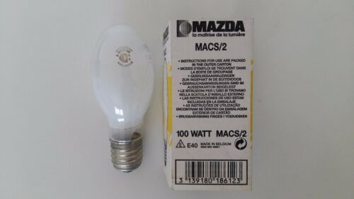 NAVE100 SONE100 MAZDA MACS//2 lampada 100W E40 SAP vapori sodio alta pressione