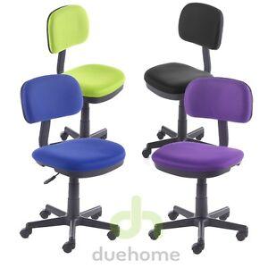 Silla escritorio silla juvenil silla oficina ebay for Silla escritorio oficina