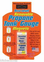 Accu-level Removable / Magnetic Propane Tank Gauge - Fits All Rv / Bbq Tanks