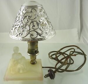 Drum Shade SALE Lampshade Bedazzled by Waverly in Silver