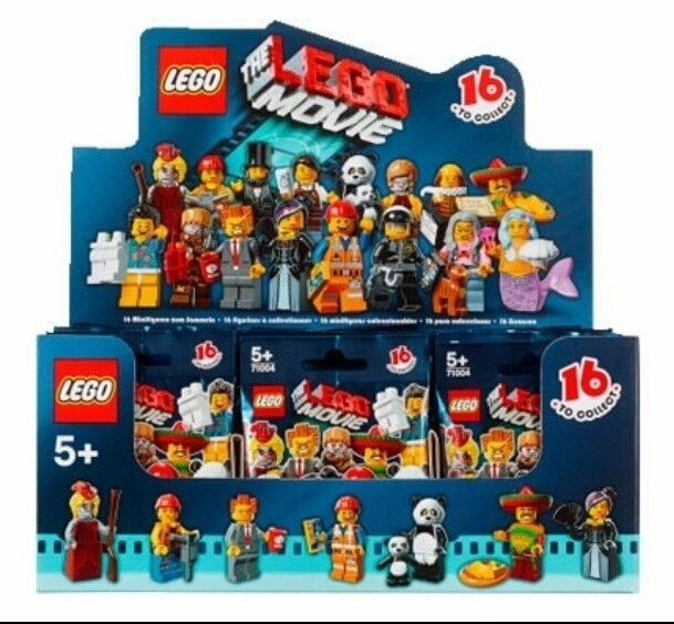 NEW THE LEGO MOVIE 71004 Box Case of 60 MINIFIGURES