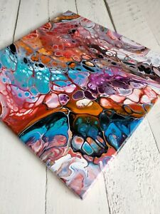 ACRYLIC-PAINTING-ORIGINAL-ARTWORK-14-034-x-14-034-CANVAS-ABSTRACT-ART-HOME-WALL-DECOR