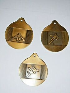 Three Montreal 1976 OLYMPICS Medals - Soccer - Weight ...