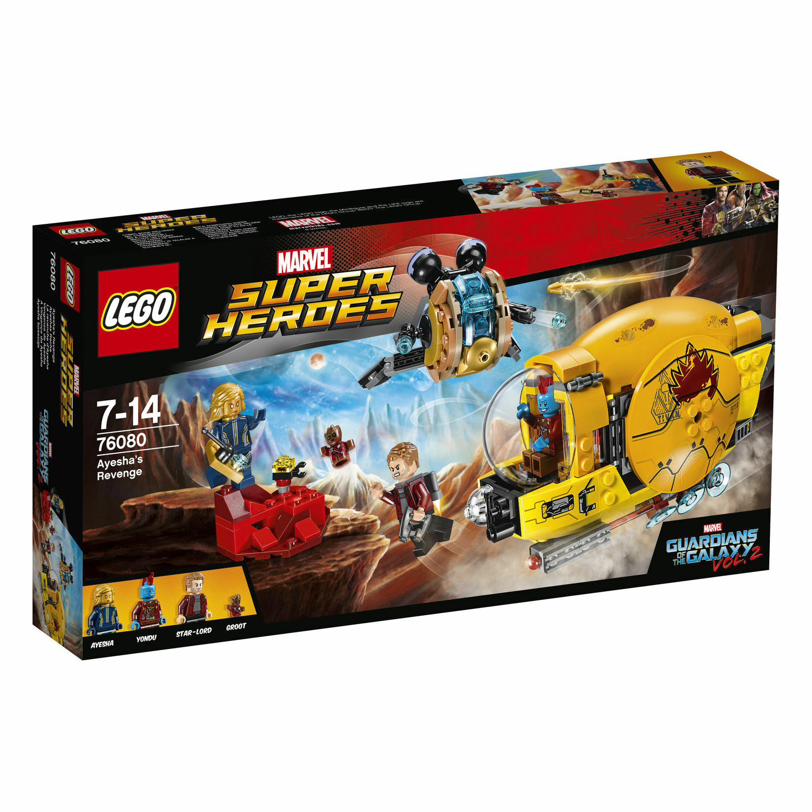 LEGO Marvel Super Heroes Ayeshas Rache (76080)
