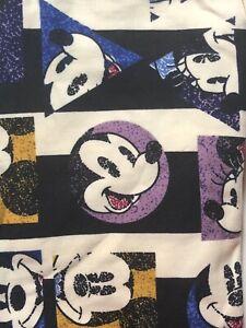 NWT LuLaRoe Disney Leggings OS One Size Mickey Minnie Mouse 201144